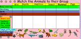 Animal Characteristic Match