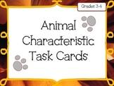 Animal Characteristic Task Cards