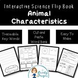 Animal Characteristics: 4 Page Flip-Book