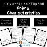 Animal Characteristics: Interactive Science Flip-Book {Fir