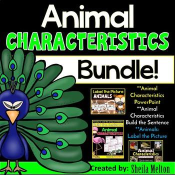 Animal Characteristics BUNDLE PACK