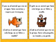 Spanish Speaking: Animals Juego de tarjetas/ Animales game cards