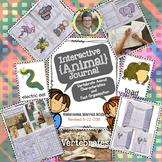 Interactive {Animal} Journal- Vertebrate Animal Characteristics/Fact Organizer