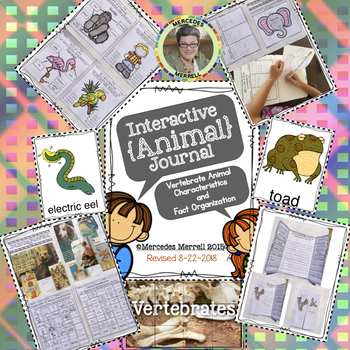 Interactive {Animal} Journal Grades 1-3