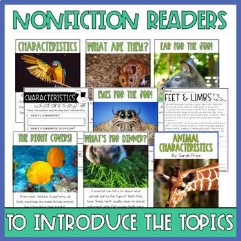 Animal Characteristics Interactive Notebook