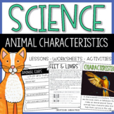 Animal Characteristics Science Resources