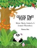 Animal Characters Text Set