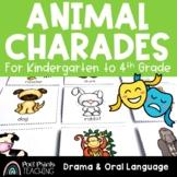 Animal Charades, Drama and Oral Language Activity