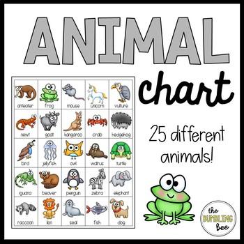 Animal Chart *FREEBIE*