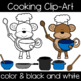 Animal Chefs! Cooking Clipart