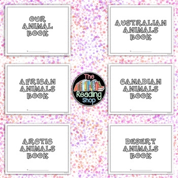 Animal - Class Book Project - Digital Resource - Usable with Google Apps