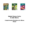 Animal Classes Series Comprehension Packet