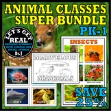 Animal Classes for PK-1: Amazing Animals SUPER Bundle