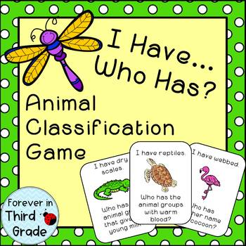 Animal Classification Game by Forever In Third Grade   Teachers ...