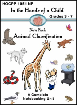 Animal Classification: A Thematic Notebooking Unit