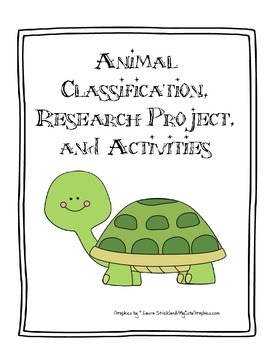 Animal Classification Activities and Research Projects