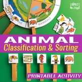Animal Classification Activity