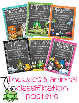 Animal Classification (An ELA and Science Unit)