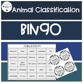 Animal Classification Bingo