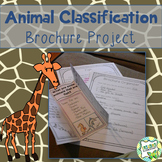 Animal Classification Brochure Project