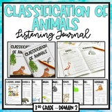 Animal Classification | CKLA Domain 2 | Listening Journal, Puzzles, Bingo Bundle