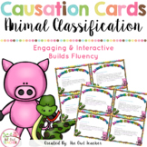 Animal Classification Causation Cards