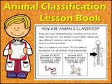Animal Classification Characteristics Lesson Book fill in blanks & Cut & Paste