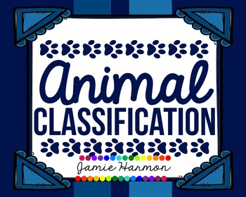 Animal Classification Charts
