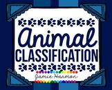 Animal Classification Charts