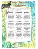 Animal Classification Choice Board