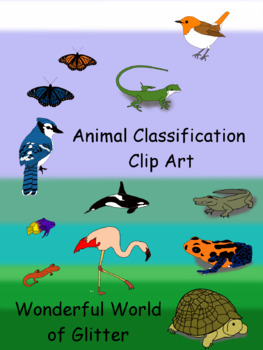 Animal Classification Clip Art