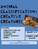 Animal Classification: Creative Creature!