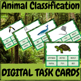 Animal Classification - DIGITAL TASK CARD GAME