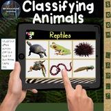 Animal Classification Digital Boom Cards Pick 3 Classifying Animals