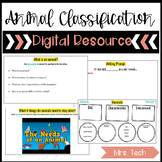 Animal Classification Digital Resource
