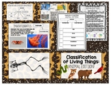 Animal Classification: Engaging Presentation + Student Graphic Organizer!