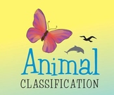 Animal Classification Primary Science