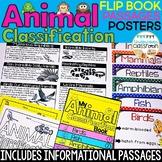 Animal Classification Flip Book, Animal Posters, Animal Classification Sort