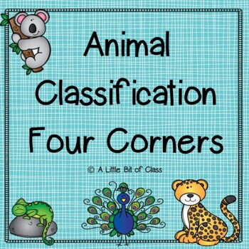 Animal Classification Four Corners Game