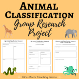 Animal Classification Group Research Project