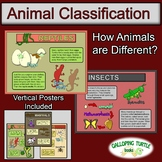 Animal Classification: How are Animals Different?