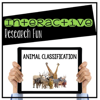 Animal Classification Digital Interactive Activity (Digital Classroom)