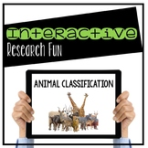 Animal Classification Digital Interactive Activity (Digital Classroom)