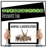 Animal Classification Digital Interactive Activity (Digita