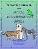 Animal Classification Levels