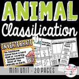 Animal Classification - MINI UNIT