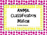 Animal Classification Match