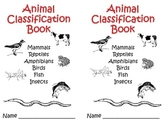 Animal Classification Mini Book 2nd/3rd