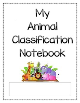 Animal Classification Notebook/Journal