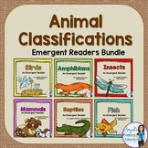 Animal Classifications Bundle of Readers